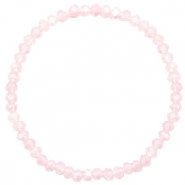 With love With love bracelet facet light pink