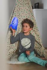Atelier Pierre Rocket Galaxy blue LED light 19 x 13 cm