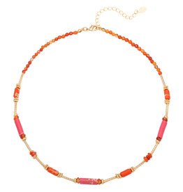 With love Necklace magical nights - red
