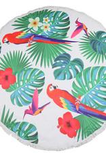 With love Beach Towel Tropical Days 150 x 150 cm