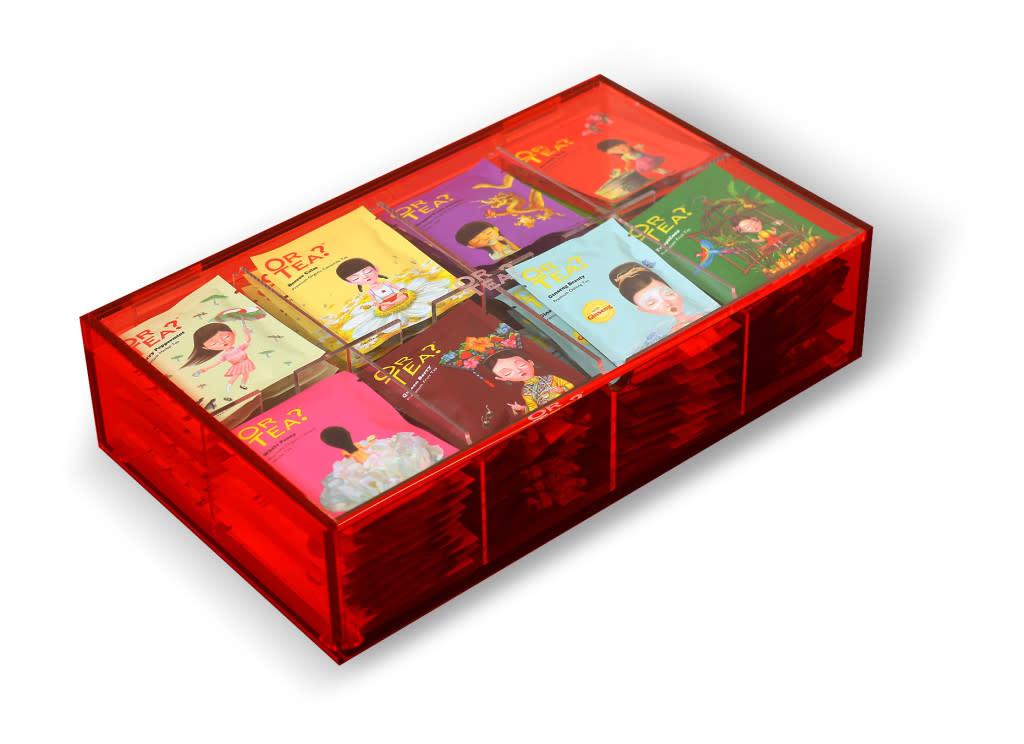 Or Tea? Or tea? Large plexi box (80 sachets)