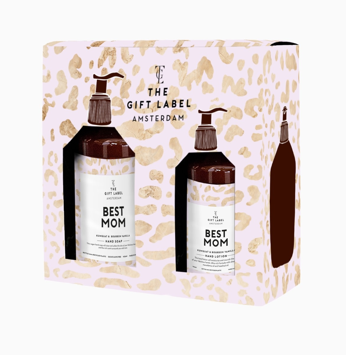 The Gift Label Gift box Best mom hand soap + hand lotion