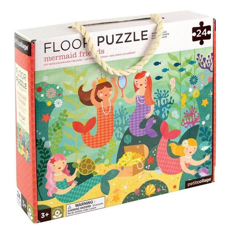 Wild + Wolf Floor puzzle mermaid friends 24 pcs
