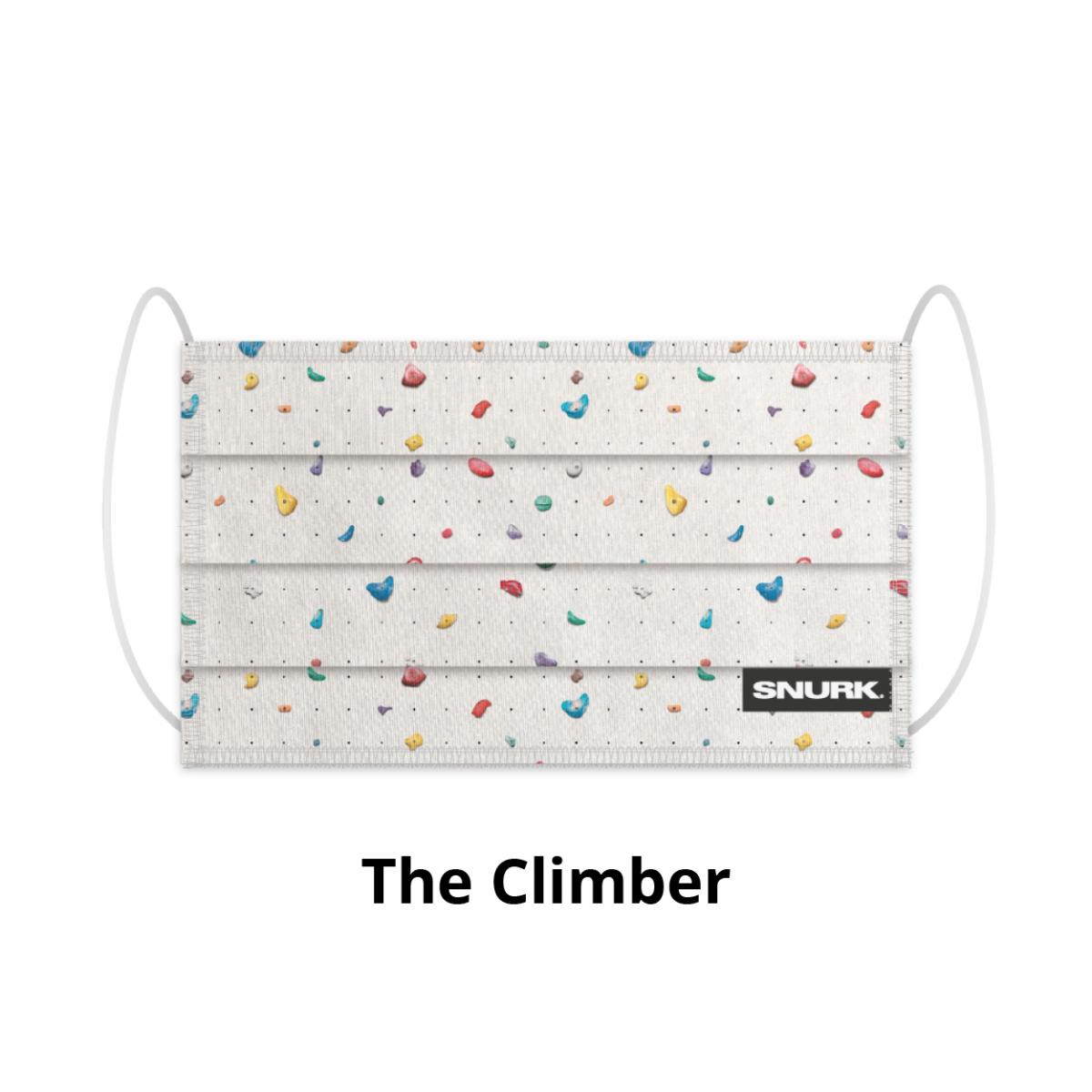Snurk Bedding Mouth mask Snurk - The Climber