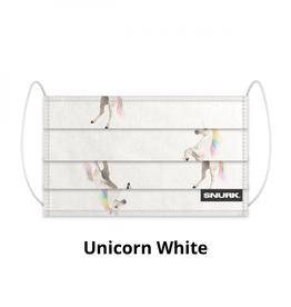 Snurk Bedding Mouth mask Snurk - Unicorn white