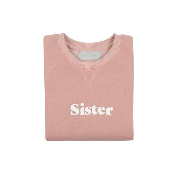 Bob & Blossom Faded blush 'sister' sweater