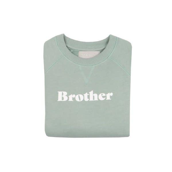 Bob & Blossom Sage 'brother' sweater