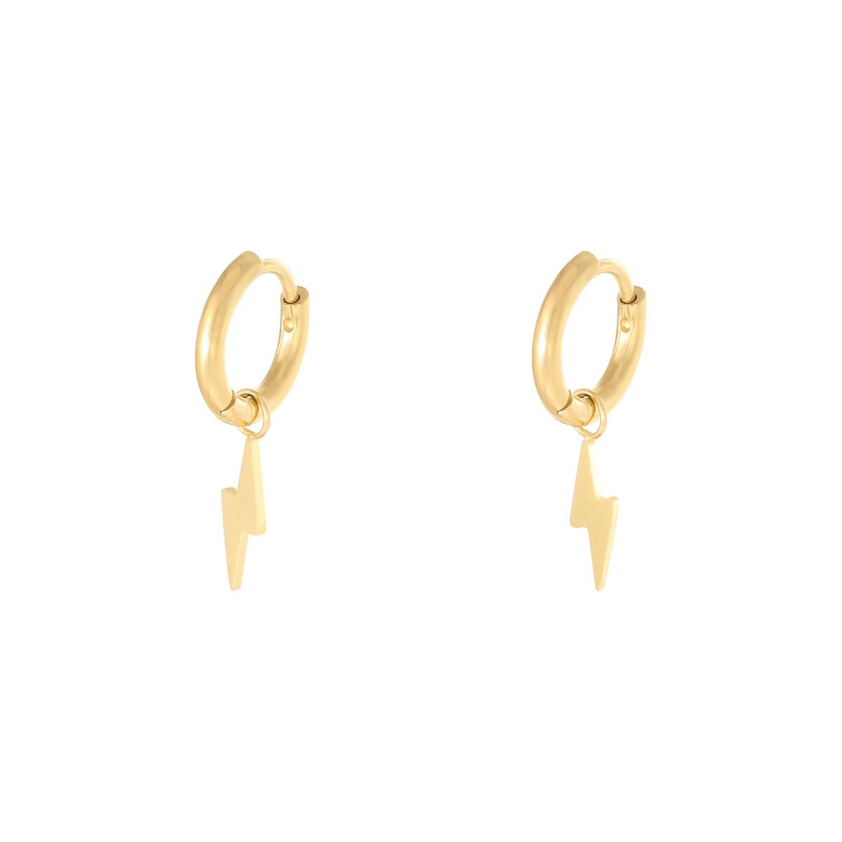 With love Earrings bolt