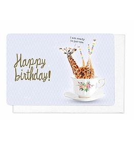Enfant Terrible Enfant Terrible card + enveloppe 'I am ready to par-tea'