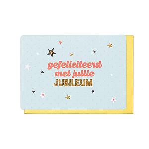 Enfant Terrible Enfant Terrible card + enveloppe 'Gefeliciteerd met jullie jubileum'
