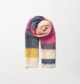 Beck Söndergaard Stripe Ingris scarf - pink