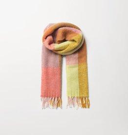 Beck Söndergaard Check Ingria scarf - rose