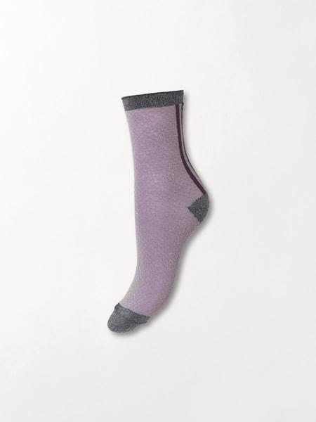 Beck Söndergaard Shimmer Pasha socks - Keepsake lilac 39/41