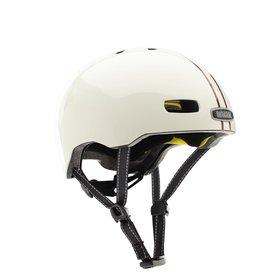 Nutcase Street Leather Bound stripe gloss MIPS helmet S (52 - 56 cm)