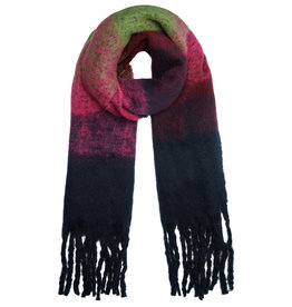 With love Scarf 'keep me warm'  navy