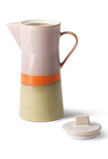 HK Living Ceramic 70's coffee pot 10x10x23cm