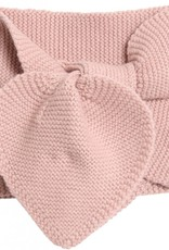 Wheat Knitted baby scarf - rose powder