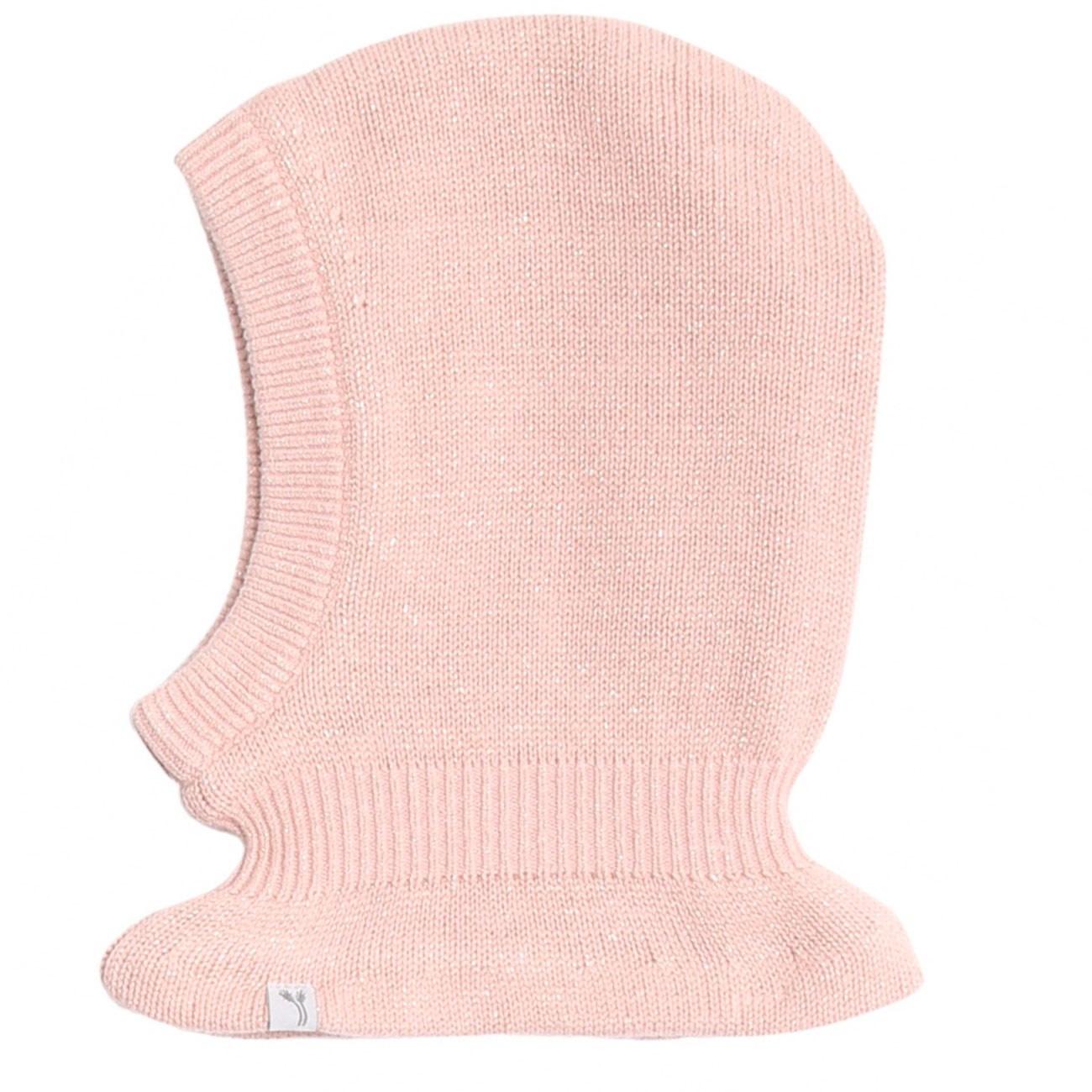 Wheat Knitted Balaclava - powder rose