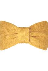 With love Headband cozy bow - yellow ochre