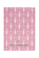With love Necklace set 'Best friends' silver