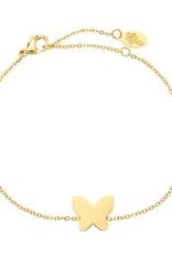 With love Bracelet sweet butterfly