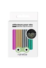 Rainette Rainette wheel spoke reflectors -multicolor