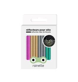 Micro Mobility Rainette wheel spoke reflectors -multicolor