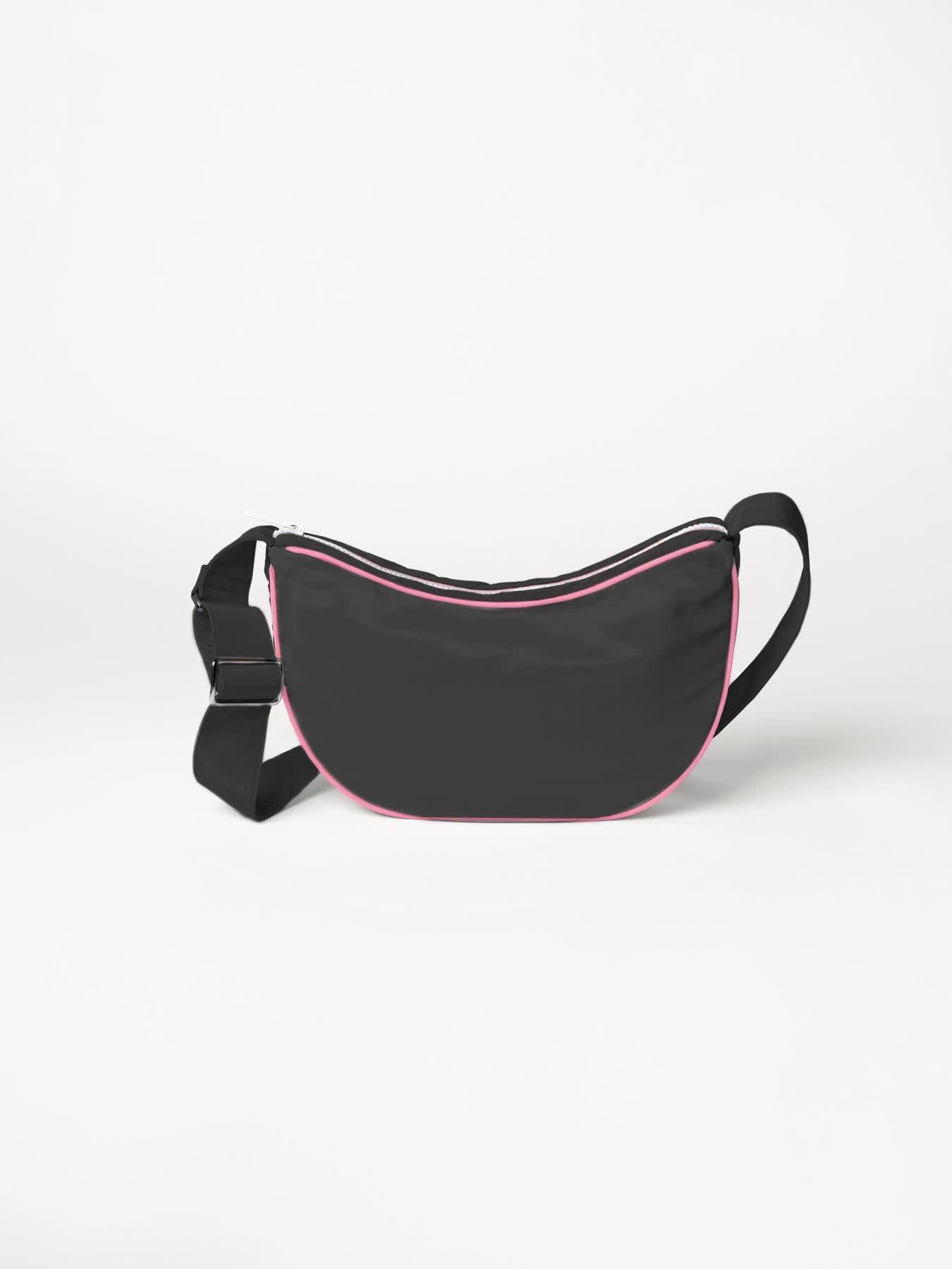 Beck Söndergaard Nylon moon bag - black