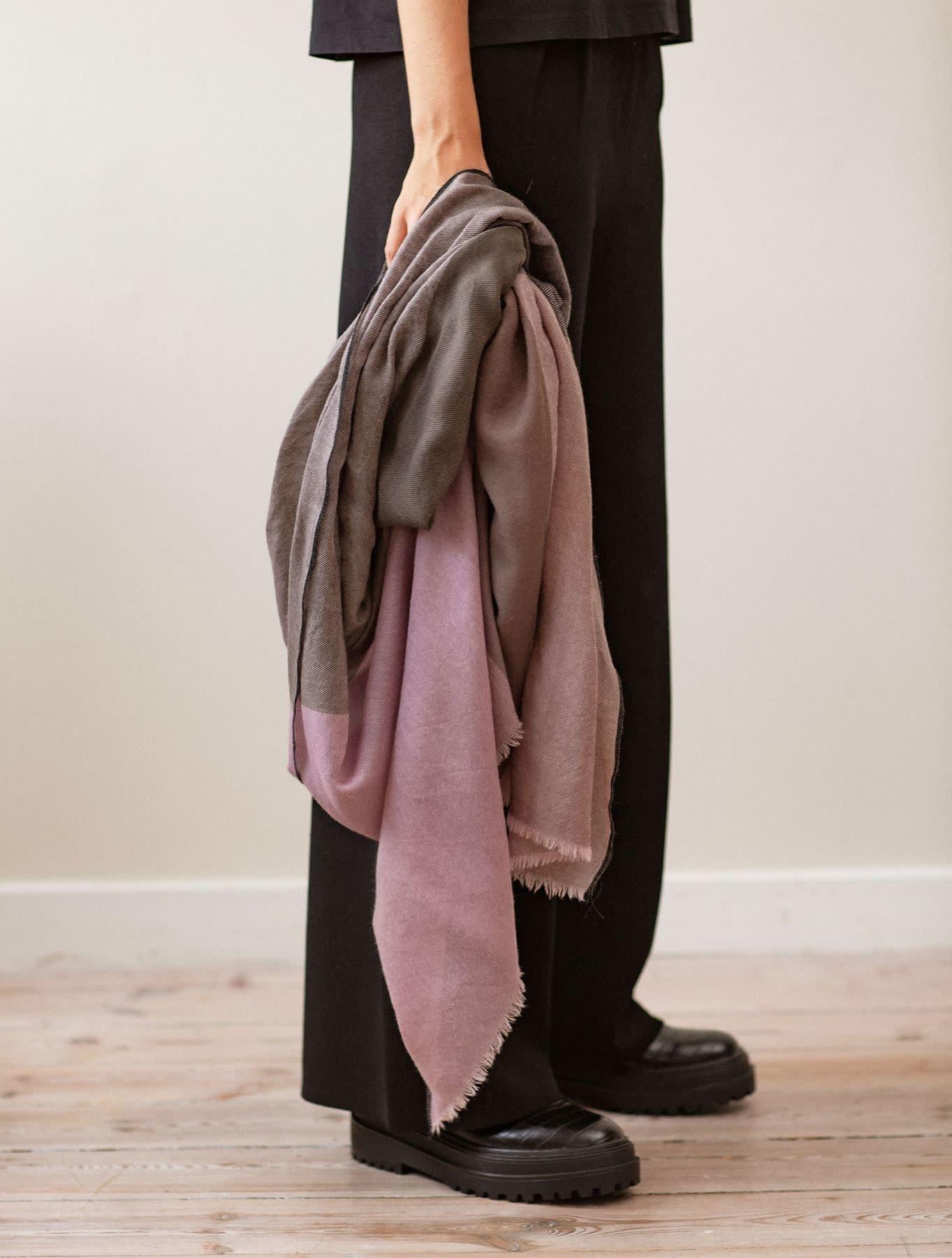 Beck Söndergaard Zulala wool scarf - desert sand