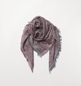Beck Söndergaard Mille color scarf - adobe rose