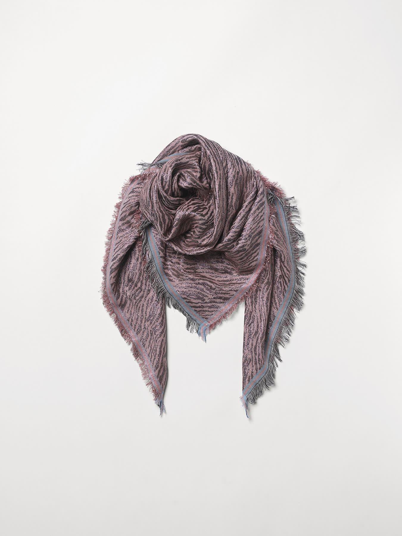 Beck Söndergaard Mille color scarf - adobe rose