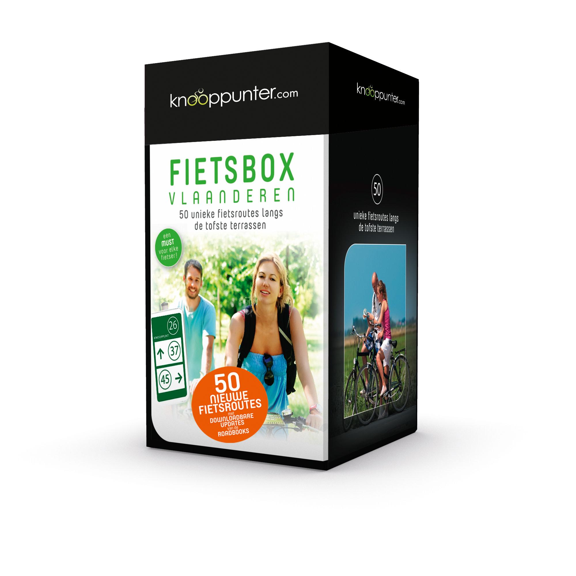 Lannoo Uitgeverij Knooppunter fietsbox Vlaanderen
