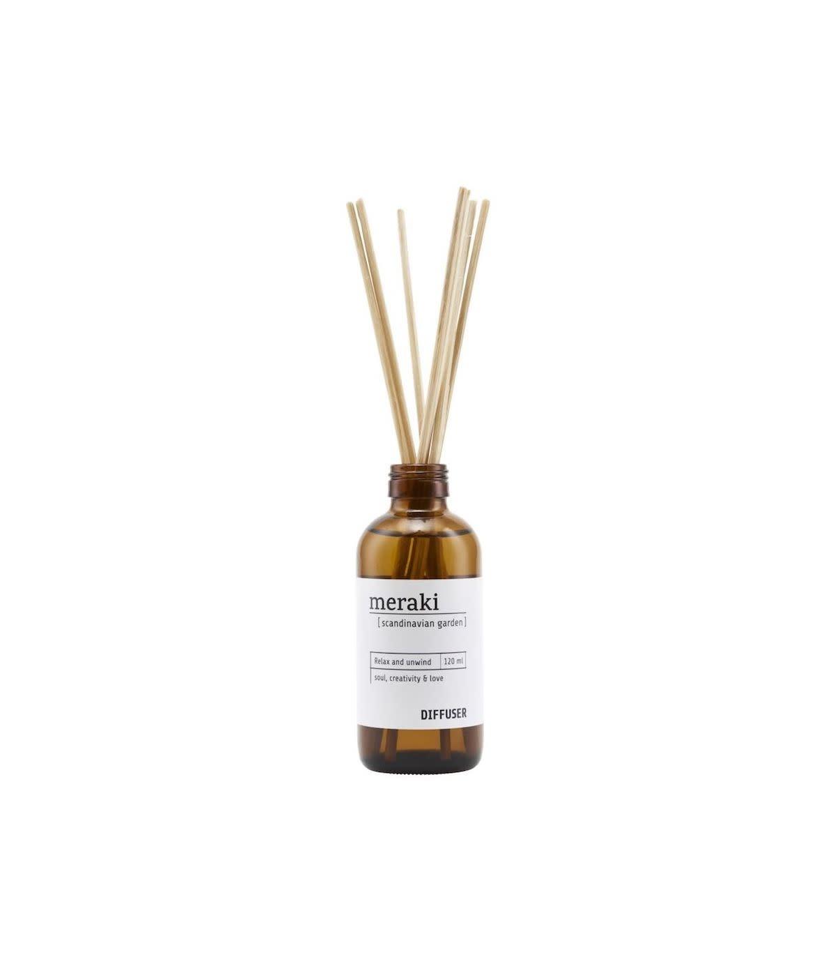 Meraki Meraki diffuser scandinavian garden 7 sticks 120 ml