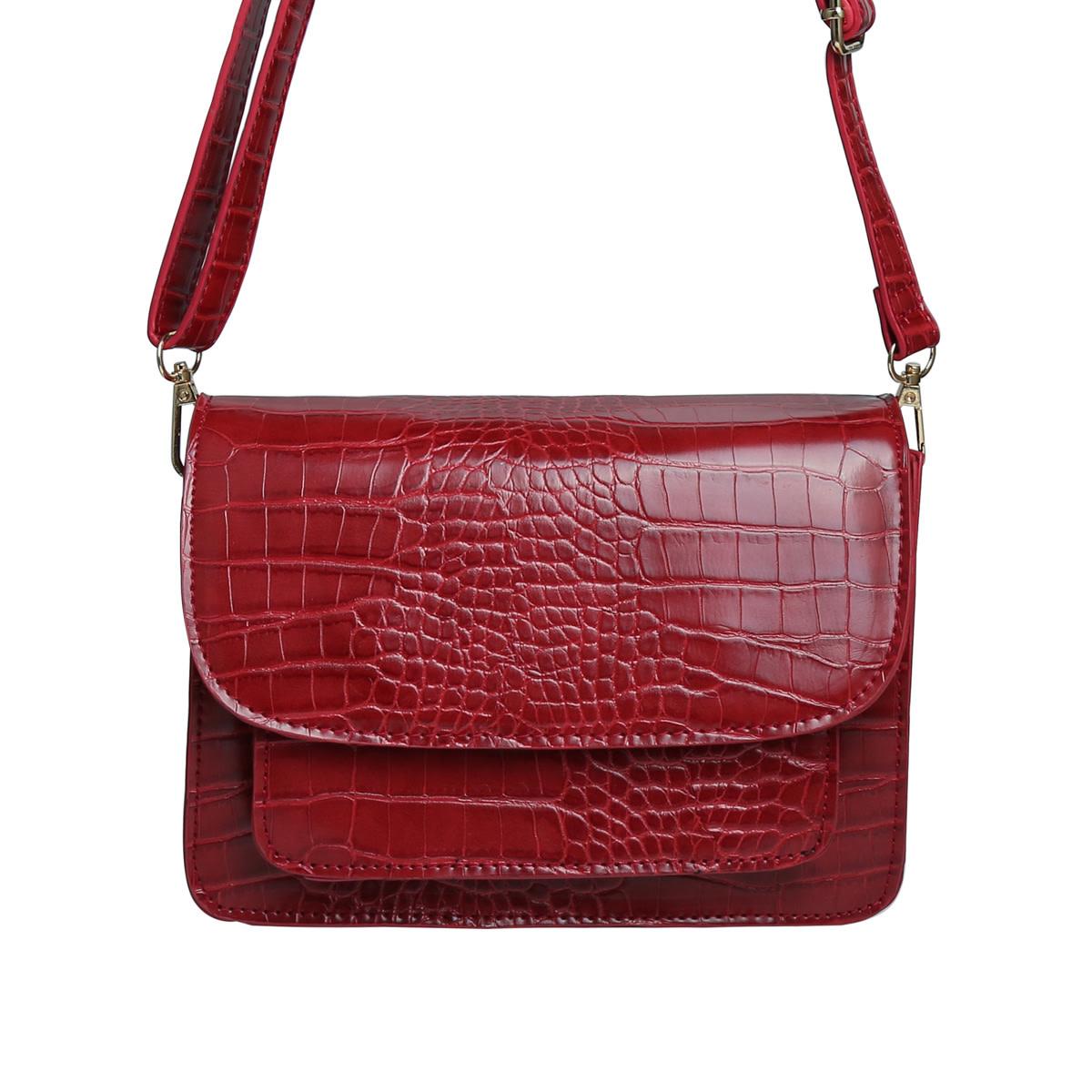 With love Bag Vogue - burgundy 21cm x 13.50cm x 7cm