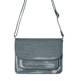 With love Bag Vogue - grey 21cm x 13.50cm x 7cm