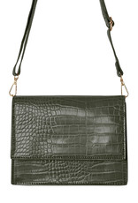 With love Bag Uptown girl - olive green 21cm x 13.50cm x 7cm