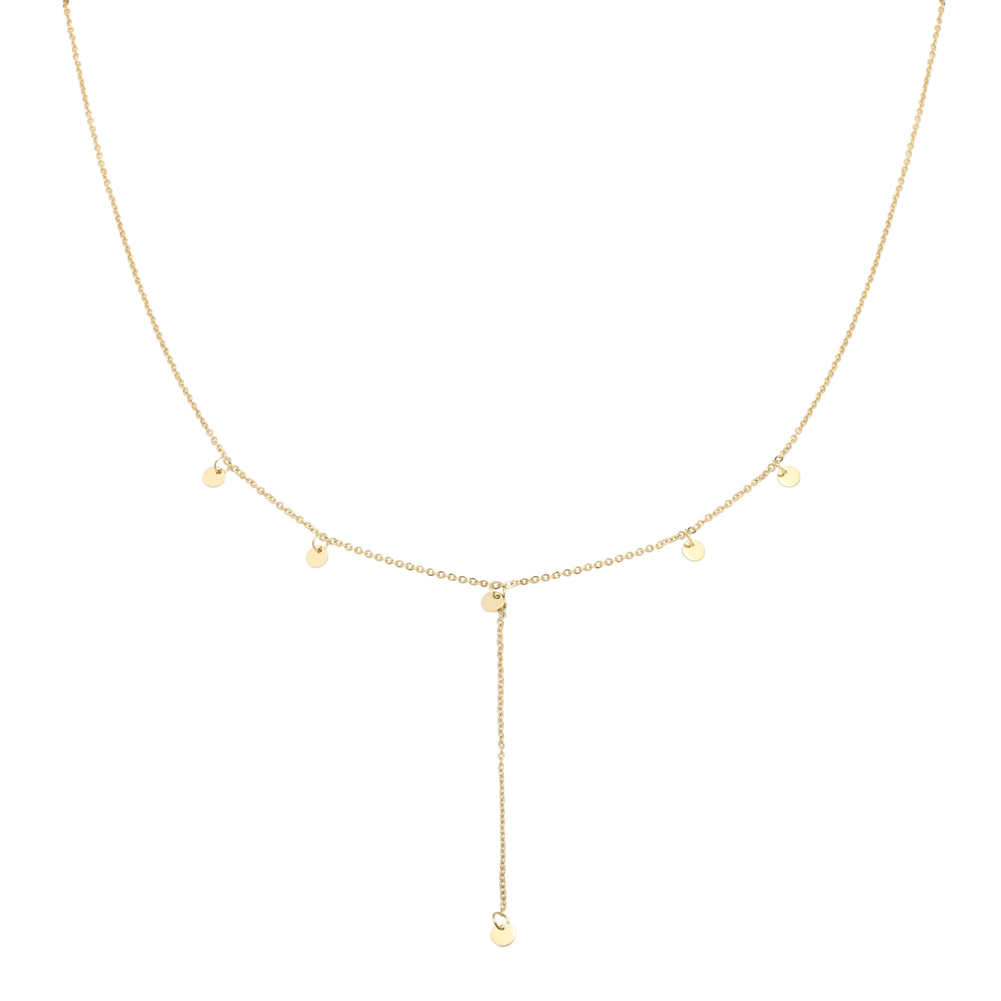With love Necklace Joy gold