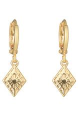 With love Earrings lovely diamond gold