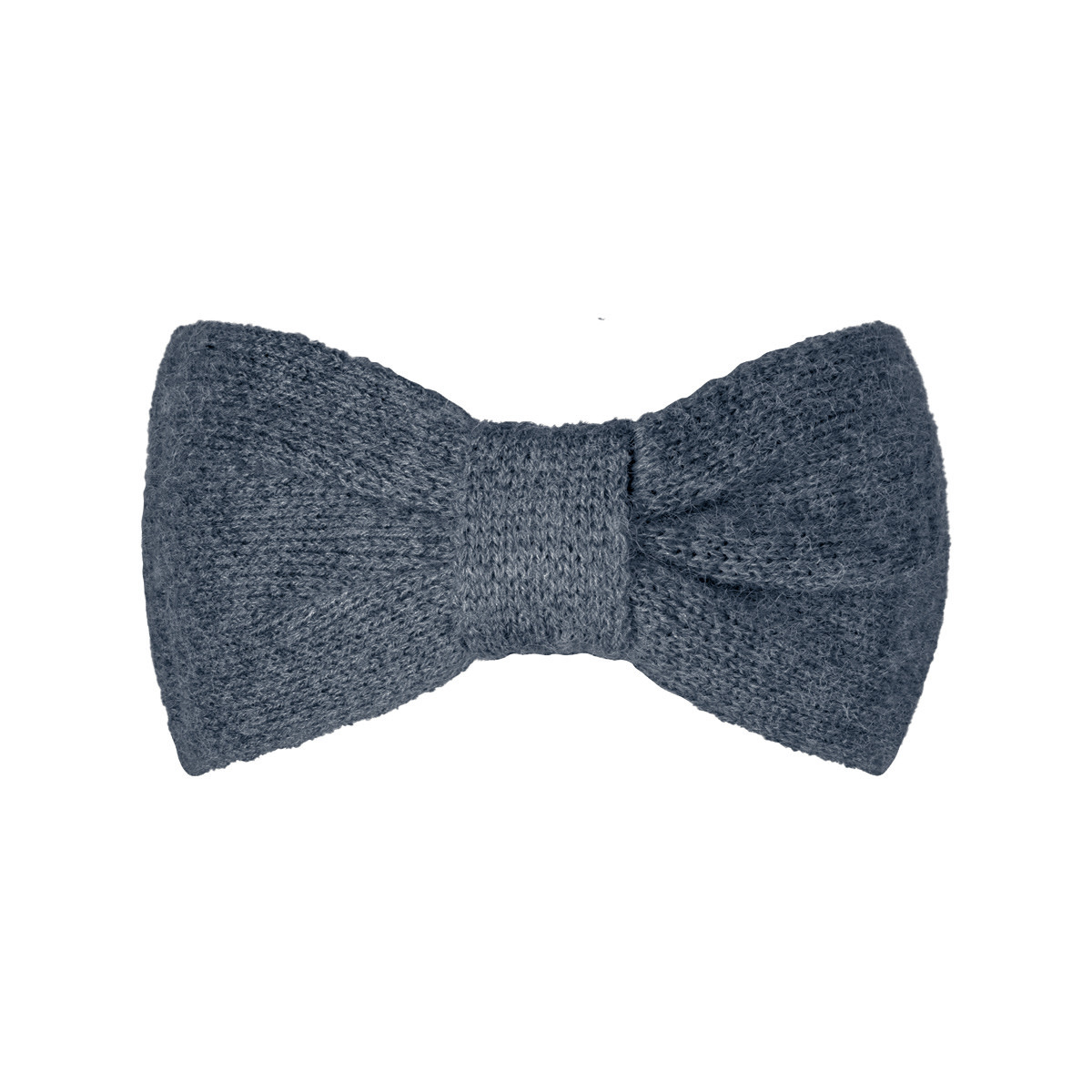 With love Headband cozy bow - dark grey