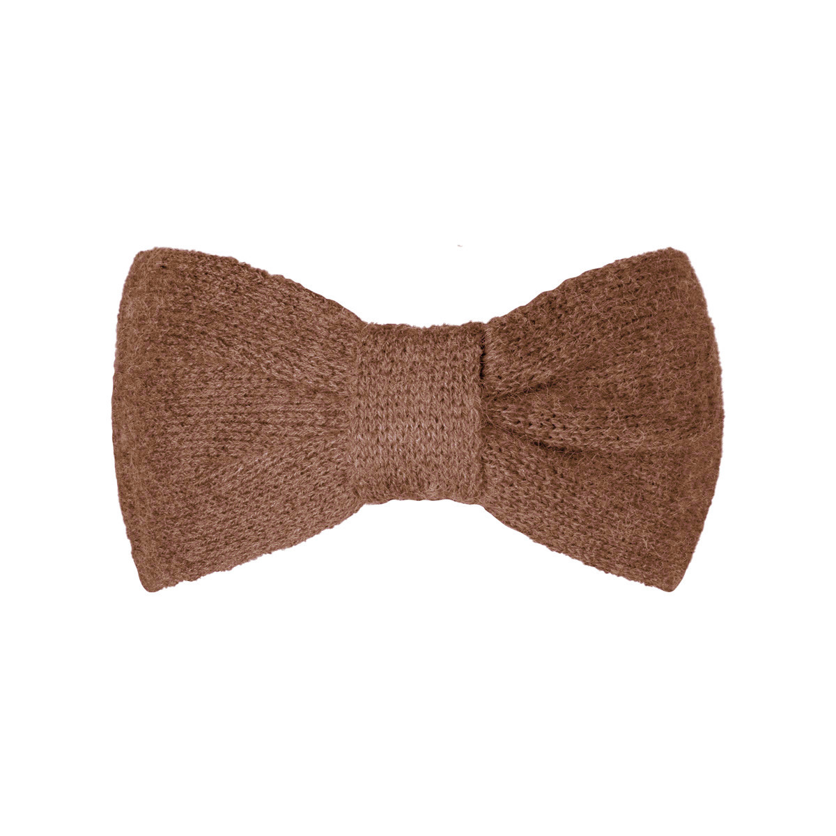 With love Headband cozy bow - camel