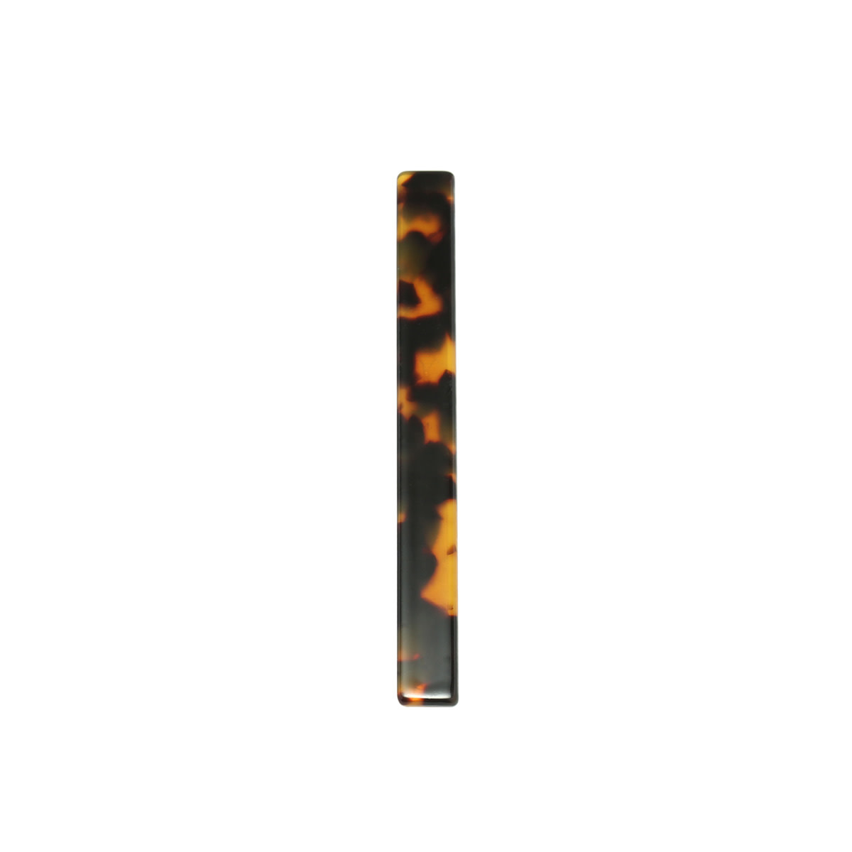 With love Hair clip Adorable brown marble