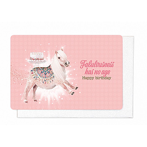 Enfant Terrible Enfant Terrible card + enveloppe 'Fabulousness has no age'