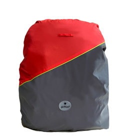 Go Fluo Charlie Red - backpack cover