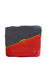 Go Fluo Milo Red - backpack cover