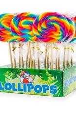 Felko Lollipop spiral rainbow 8.5 cm