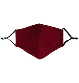 With love Mouth mask Burgundy