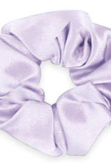 With love Scrunchie silky sheer lilac purple