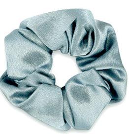 With love Scrunchie silky allure blue grey