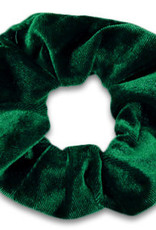 With love Scrunchie velvet - fir green