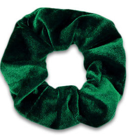 With love Scrunchie velvet - fir green